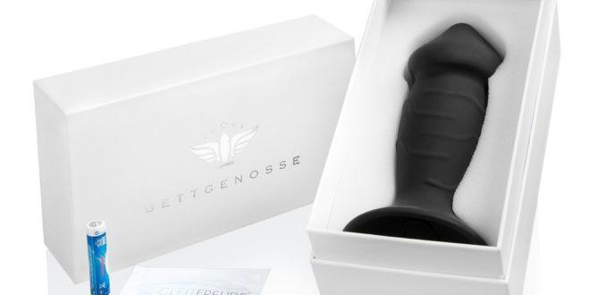 Butplug Deluxe Silikon Penis Vibrator
