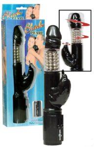 Großer Vibrator Massagekugel-Vibrator mit Klitoris- Reizer